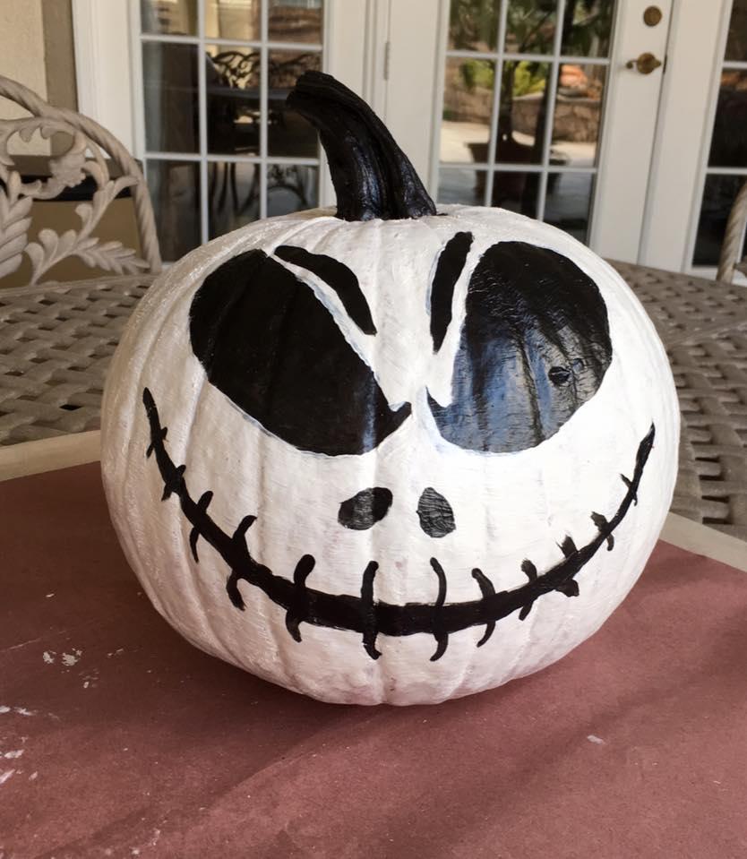 Dong's first Halloween Pumpkin